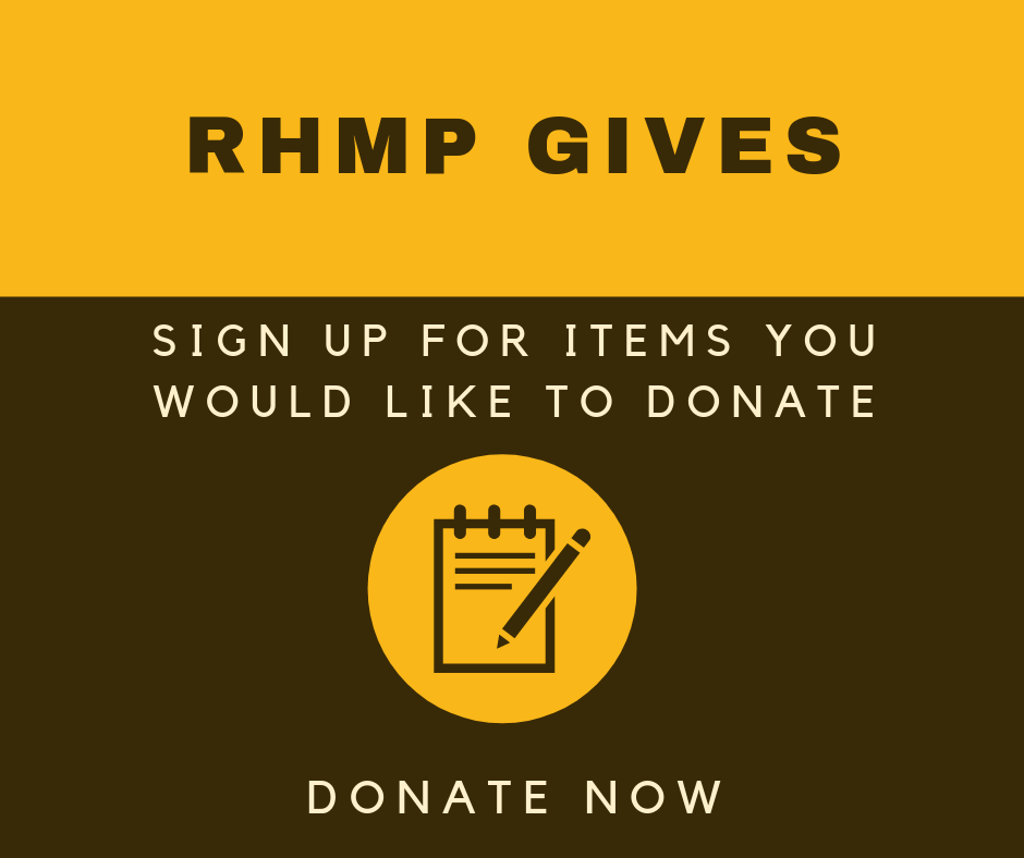 RHMP Gives - Donate Now